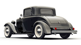 Black Retro  Car Royalty Free Stock Photos