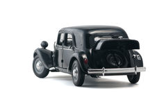 Black retro car Royalty Free Stock Image