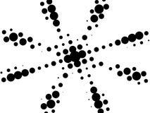 black retro star white Στοκ εικόνα με δικαίωμα ελεύθερης χρήσης