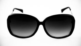 Black Retro Sunglasses Royalty Free Stock Photography