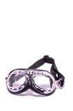 Black Retro Vintage Leathern Goggles Stock Photos