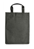 Black reusable bag Stock Image