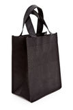 Black reusable shopping bag Royalty Free Stock Photo