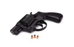 Black revolver Stock Image