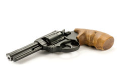 black revolver gun Stock Photo