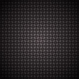 Black rhombuses Stock Images