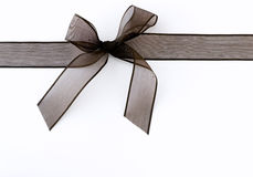 Black ribbon Royalty Free Stock Images
