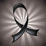 Black Ribbon Background Royalty Free Stock Photography
