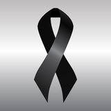 Black ribbon stock illustration