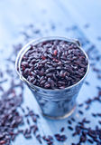 Black rice Royalty Free Stock Photos