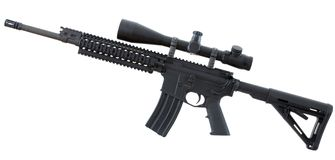 Black rifle Royalty Free Stock Image