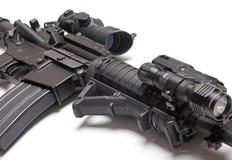 The Black Rifle close-up Stock Photo