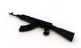 Black rifle Royalty Free Stock Images