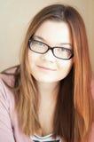 Black-rimmed glasses Stock Photo