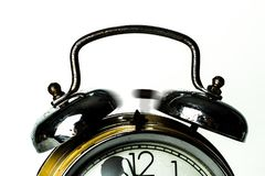Black Ring Bell Alarm Clock Royalty Free Stock Photo