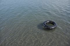 Black Ring Buoy Stock Photos