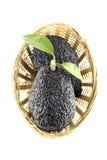 Black Ripe Avocados Royalty Free Stock Photography