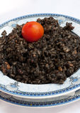 Black Risotto Stock Image