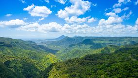 Black River Gorges National park Stock Photography