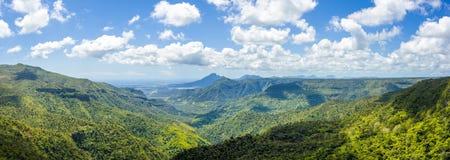 Black River Gorges National park Royalty Free Stock Images