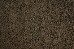Black road surface. Stone texture of road close up for background Royalty Free Stock Photos