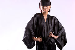 Black robe Royalty Free Stock Photo