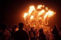 Black Rock Desert, USA - 2nd of September 2016: Burning Man. Taken in 2015 royalty free stock photo
