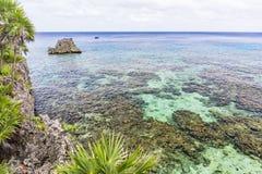 Black Rock and Iron Shore Reef Stock Photos