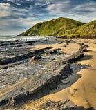 Black Rocks - Salika Wildlife Reserve Stock Photo