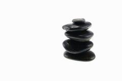Black rocks Royalty Free Stock Photos
