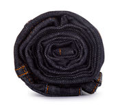Black roll jeans Stock Photography