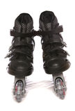 Black roller blades Stock Photo