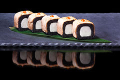 Black rolls Stock Image