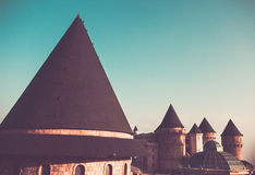 Black Roofed Castle Royalty Free Stock Image