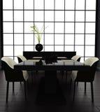 Black room. Royalty Free Stock Image