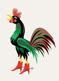 Black rooster Stock Photos