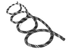 Black rope. Royalty Free Stock Photography