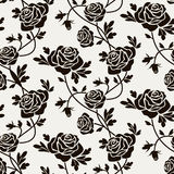 Black roses Royalty Free Stock Photography