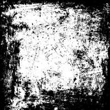 Black rough frame template. Rustic, distressed wall texture. Grunge black white background. Black rough paint strokes on wall temp Stock Photography