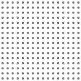 Black round corner square dotted pattern design element on white royalty free illustration