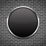 Black Round Frame Stock Photography