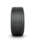 Black rubber car tire Stock Image
