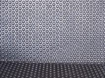 Black rubber mat Stock Image