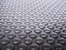 Black rubber mat Stock Photography