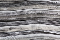 Black rubber sheet Stock Photo