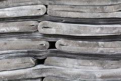 Black rubber sheet Stock Images