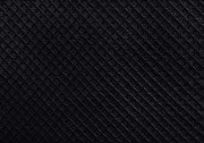 Black rubber texture background. Stock Photos