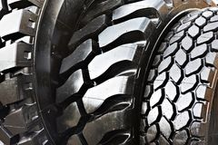 Black rubber tire background royalty free stock images