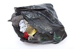 Black rubbish bag Royalty Free Stock Photo