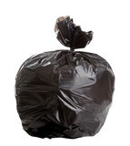 Black Rubbish Bag Royalty Free Stock Photo